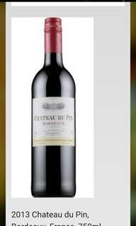 2013 Chateau du Pin, Bordeaux, France, 750ml