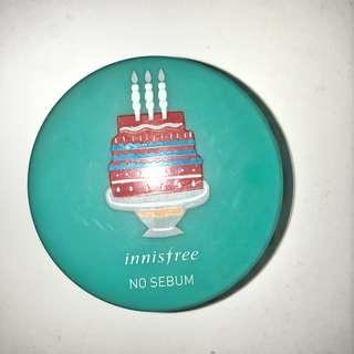 no sebum mineral powder birthday