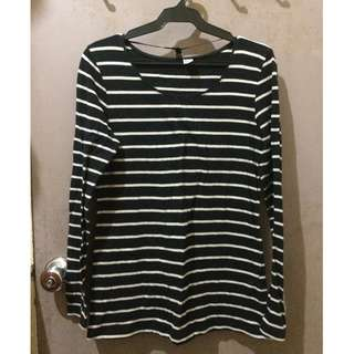H&M Black and White Stripes