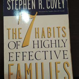 7 habits of effective families