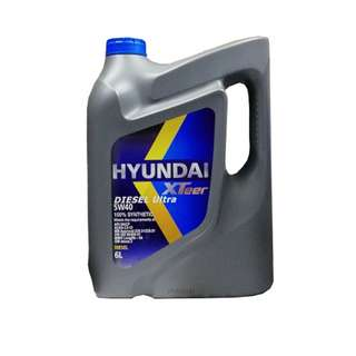 Hyundai Engine Oil For Diesel | XTee Diesel Ultra 5W40 100% Synthetic - 6 Liters
