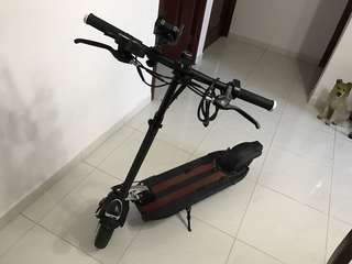 Very good using e-scooter