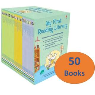 Preorder - Authentic Usborne reading library Sets
