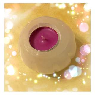 Crystal Selenite Lotus Candle holder- 420gm