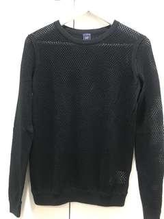 GAP see through sweater