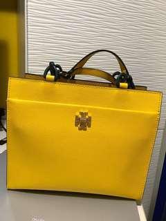 Tory burch Yellow tote bag 2018