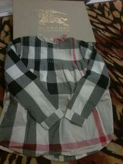 BURBERRY VINTAGE CHECKED DRESS