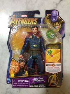 Avengers Infinity War Doctor Strange With Infinity Stone