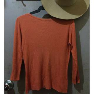Rusty Orange Sweater