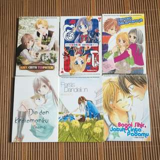 SET MANGA : 6 BOOKS