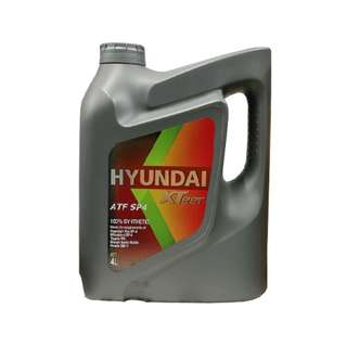 Hyundai Automatic Transmission Fluid | XTeer SP4 100% Synthetic - 4 Liters