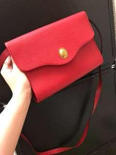 Dior red bag