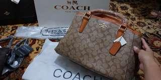 TPS: Coach Carryall Monogram Satchel Bag