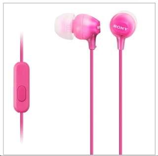 Sony Earphones 入耳式手機耳筒