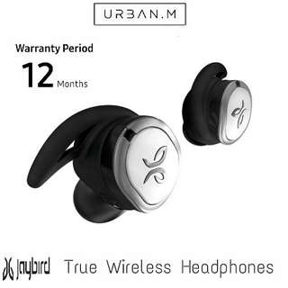 Jaybird RUN True Wireless Headphones (Drift Silver)
