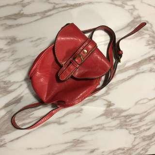 紅色小手袋 側孭袋 斜咩袋