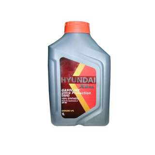 Hyundai Engine Oil For Gasoline | UP 5W40 100% Synthetic - 1 Liter