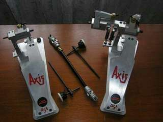 Axis Longboard Double Pedal c/w Axis Percussion Original Hardcase