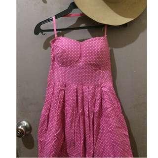 Pink Polkadots dress