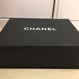 Chanel 磁石紙盒 袋 中size