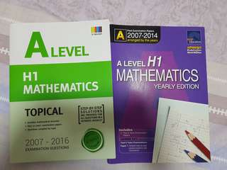 A Level H1 Maths Ten Year Series