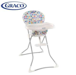 GRACO Tea Time簡便型式高腳餐椅 降價喔