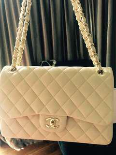 Chanel Jumbo Lambskin with gold chain (Price Reduced)