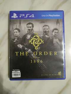 PS4 The Order (Used)