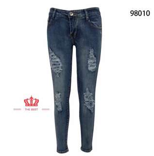 TATTERED JEANS LH 98010