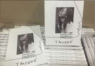 [Preorder] Taeyeon 3rd Mini Album-Something New