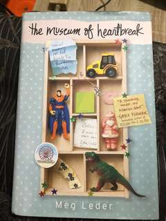 The Museum Of Heartbreaks by Meg Leder (hard bound)