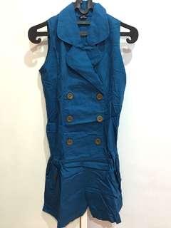 Jumpsuit blue electric
