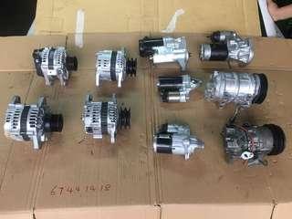 Car Starters & Alternators (Re-conditioned)