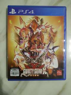 PS4 Guilty Gear Xrd Sign (Used)