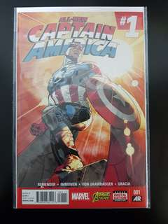 All-New Captain America (2015) #1 NM