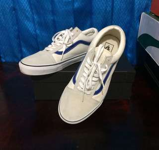 🔴Original Vans Old Skool Blue stripe