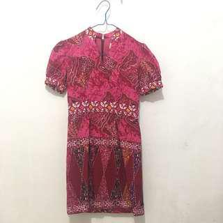 Custom Made Batik Dress