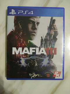PS4 Mafia 3 (Used)