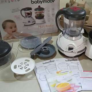 Preloved Very Like New Babymoov Nutribaby Baby Moov Nutri Baby (GARANSI PANJANG)