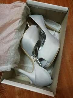 Wedding high-heels - Light Grey