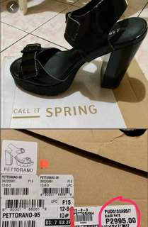 Call It Spring High Heeled Shoes