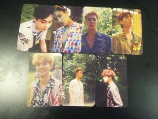 EXO UNOFFICIAL PHOTOCARD