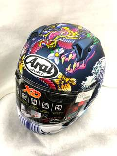 EXCLUSIVE ARAI XD - ORIENTAL BLUE (LIMITED JAPAN ONLY)