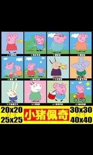 🚚 Peppa pig painting by numbers