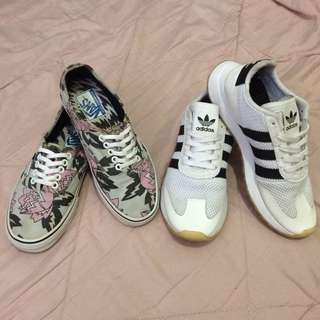 BUNDLE Authentic Vans & Adidas Shoes