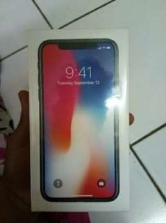 Iphone X 64Gb space grey inter