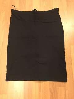 Maternity Black Skirt