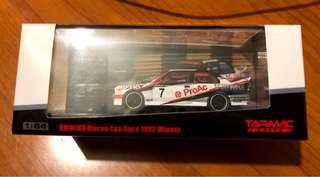 Tarmac Works BMW M3 Macau Cup Race 1992 Winner Charles Kwan