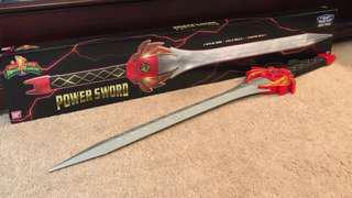 MMPR POWER RANGERS RED RANGER POWER SWORD