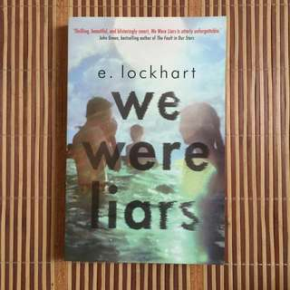 WE WERE LAIRS BY  E. Lockhart